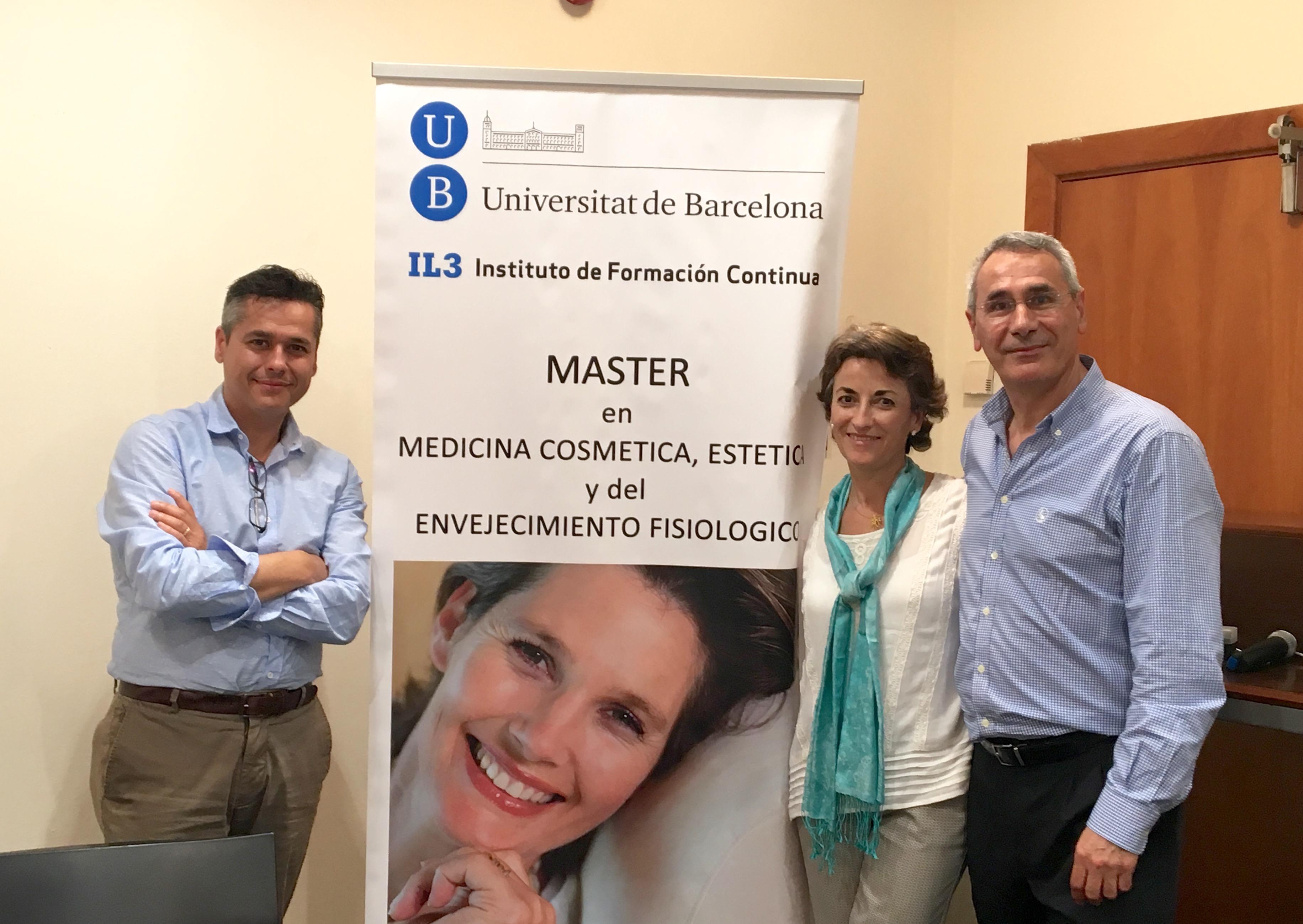 El Dr. J. Salinas participó en Junio como ponente en el Máster en Medicina Cosmética, Estética y del Envejecimiento Fisiológico
