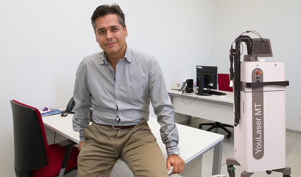 Dr. J. Salinas es pionero en la provincia en el tratamiento de la incontinencia urinaria con LÁSER.